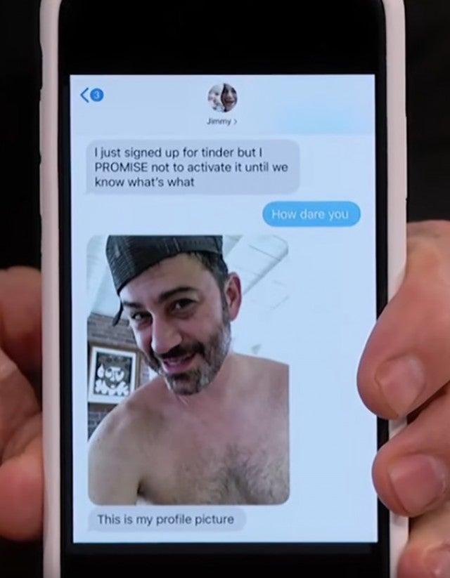 Jimmy Kimmel text