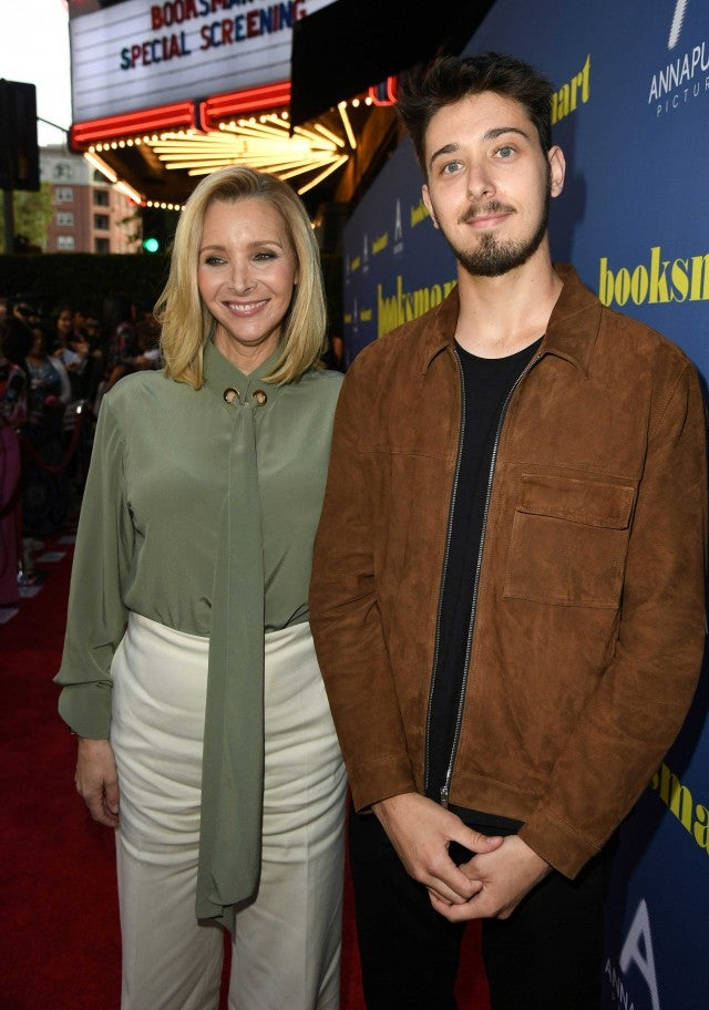 Lisa Kudrow and son Julian Murray Stern at a screening of Booksmart in LA on May 13
