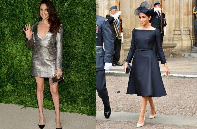Meghan Markle in dresses