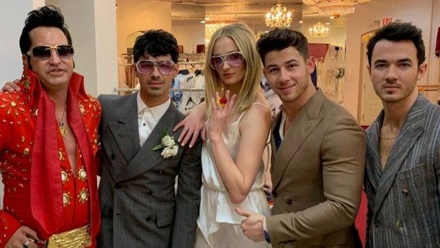 Sophie Turner and Joe Jonas Vegas Wedding