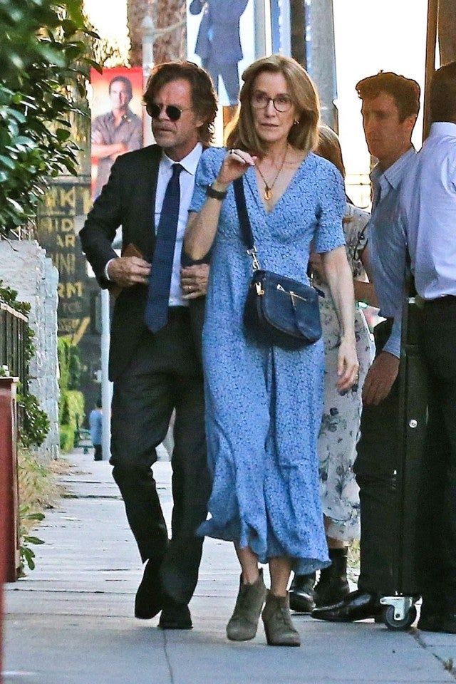 Felicity Huffman and Willilam H. Macy