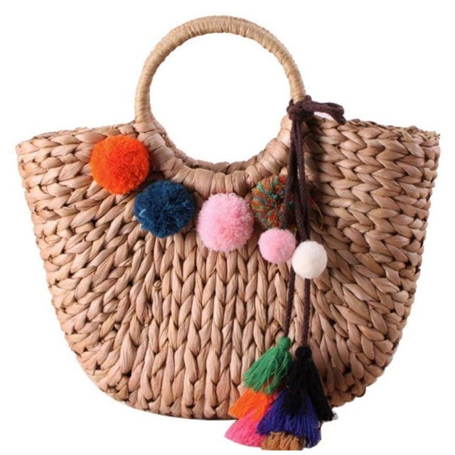 EROUGE amazon straw bag