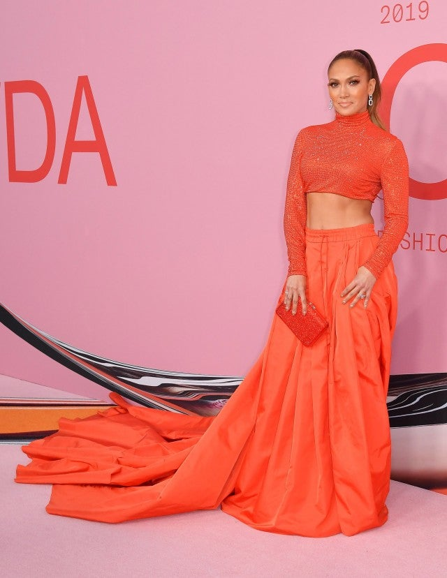 Jennifer Lopez at 2019 CFDA Fashion Awards