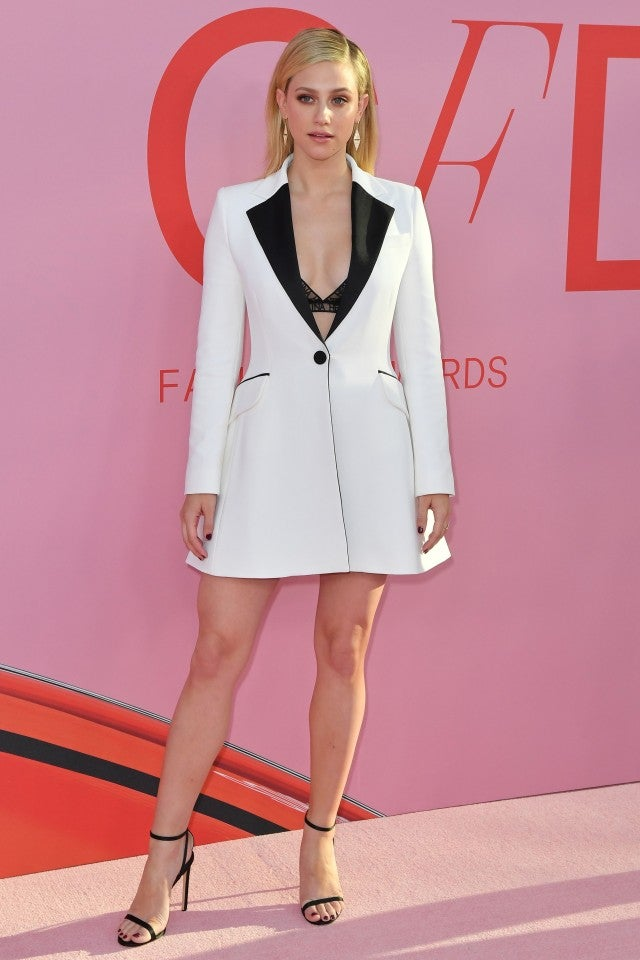 Lili Reinhart at CFDA Fashion Awards 2019