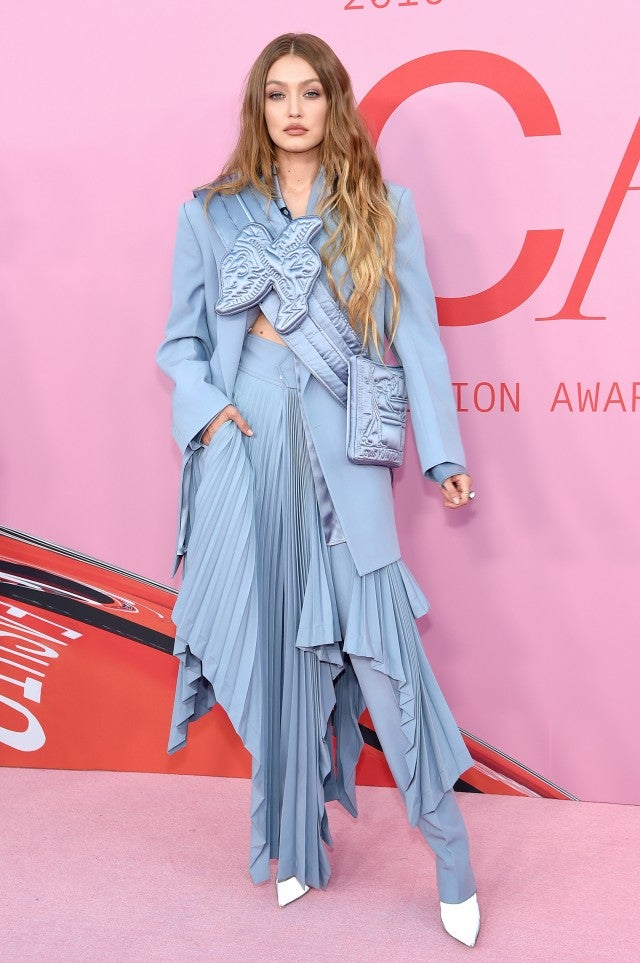 Gigi Hadid at 2019 CFDA Fashion Awards