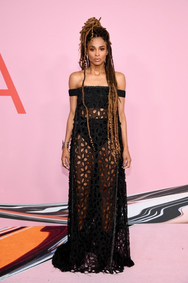 Ciara at 2019 CFDA Fashion Awards