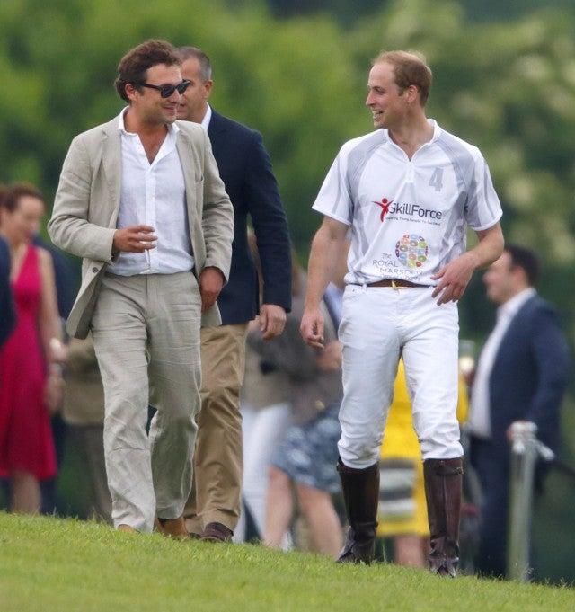 Thomas van Straubenzee and Prince William