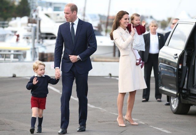 Kate Middleton Prince William and kids in Canada in 2016