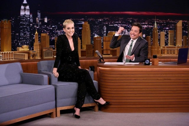 katy perry on tonight show in 2017