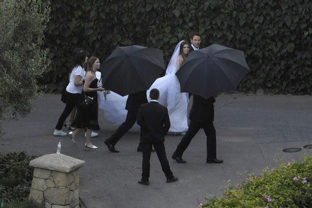 克里斯普拉特和凯瑟琳施瓦辛格在亲密仪式上结婚:Pic! - 娱乐今晚 -mega440092_001