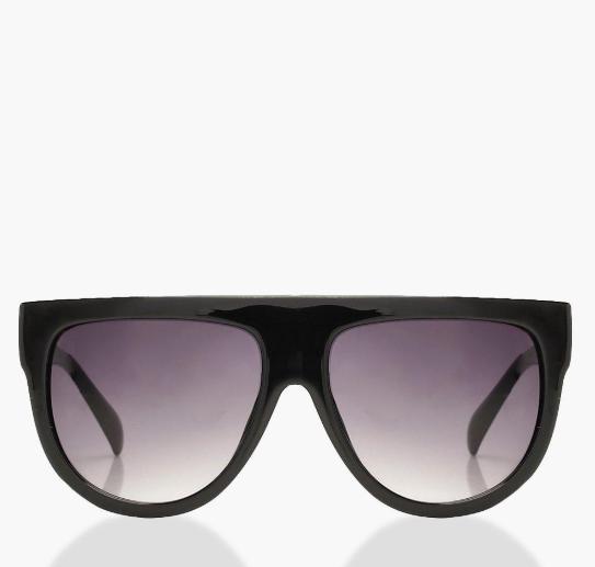Boohoo flat top sunglasses