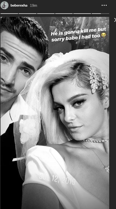 Bebe Rexha married