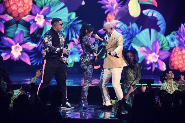 Premios Juventud Pitbull Natti Natasha Daddy Yankee
