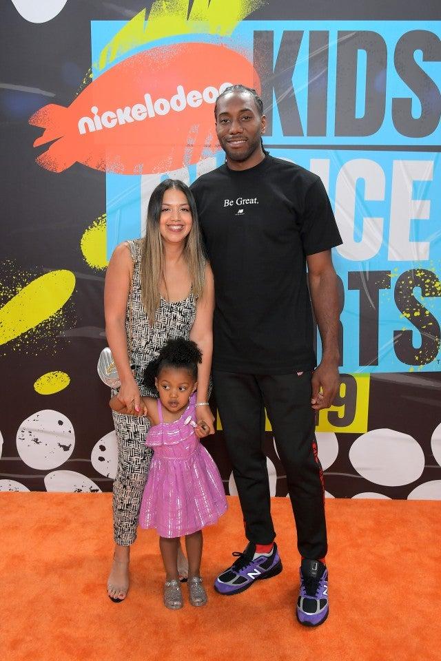 kawhi leonard kids choice sports awards 2019