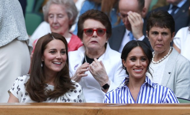 Meghan Markle and Kate Middleton's Wimbledon body language hints thaw in 'rift'