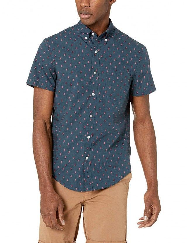 J.Crew Mercantile Short-Sleeve Printed Shirt