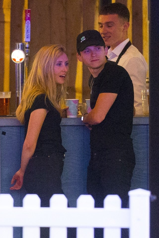 Shy People: Tom Holland Packs On PDA With Mystery Woman In London