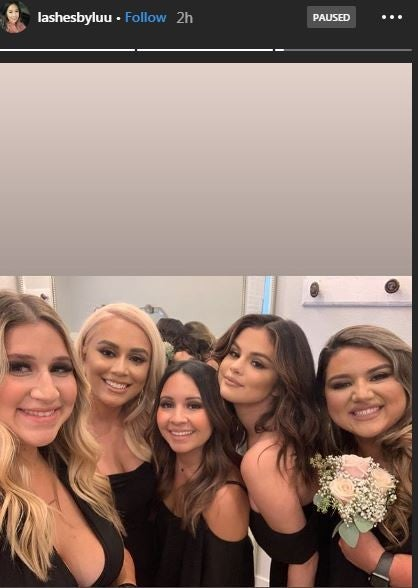 Selena Gomez Cousin's Wedding