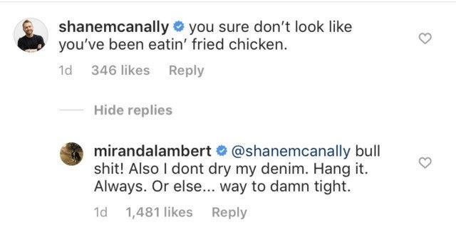 Miranda Lambert comment