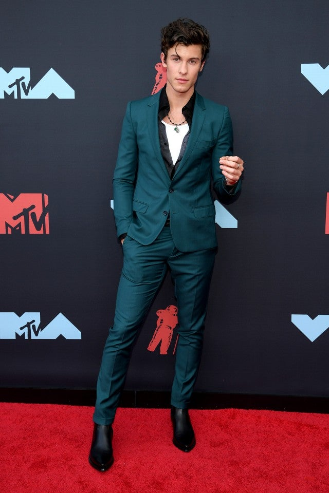 Shawn Mendes at 2019 vmas