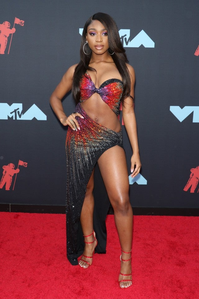 normani at 2019 mtv vmas