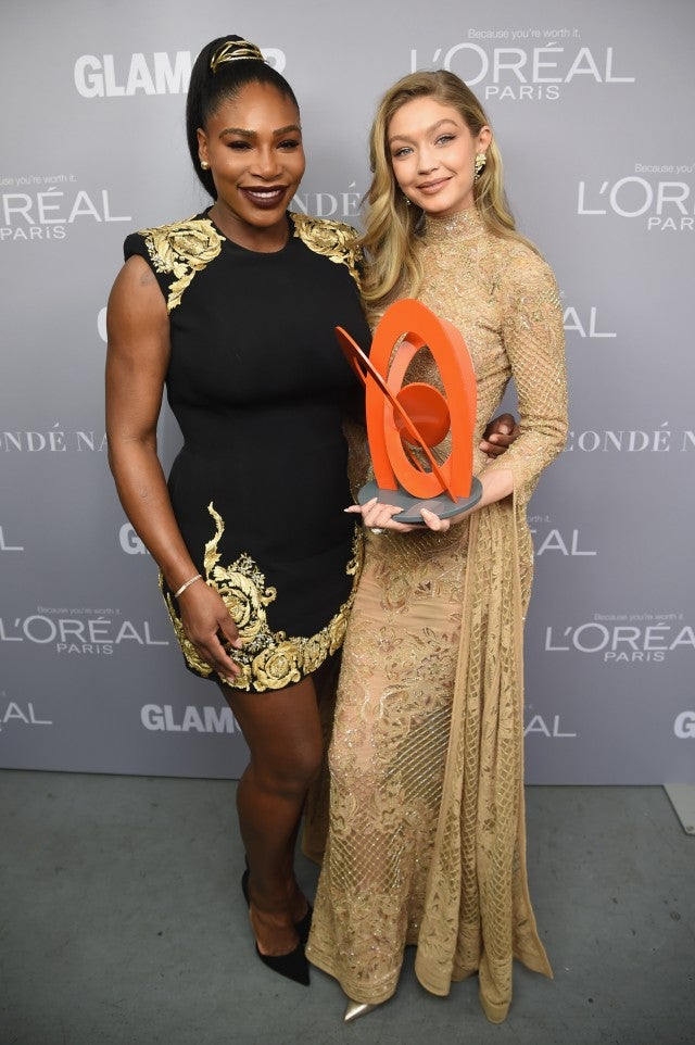 Serena Williams and Gigi Hadid