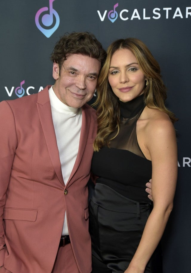 George Caceres and Katharine McPhee at Vocal Star