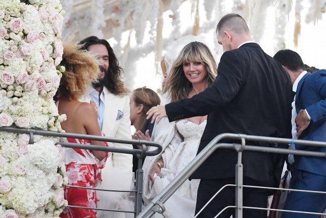 Heidi Klum And Tom Kaulitz Hold Second Wedding In Italy