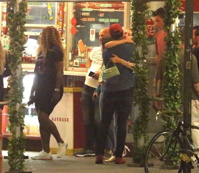Serena Williams, Gigi Hadid and Tyler Cameron