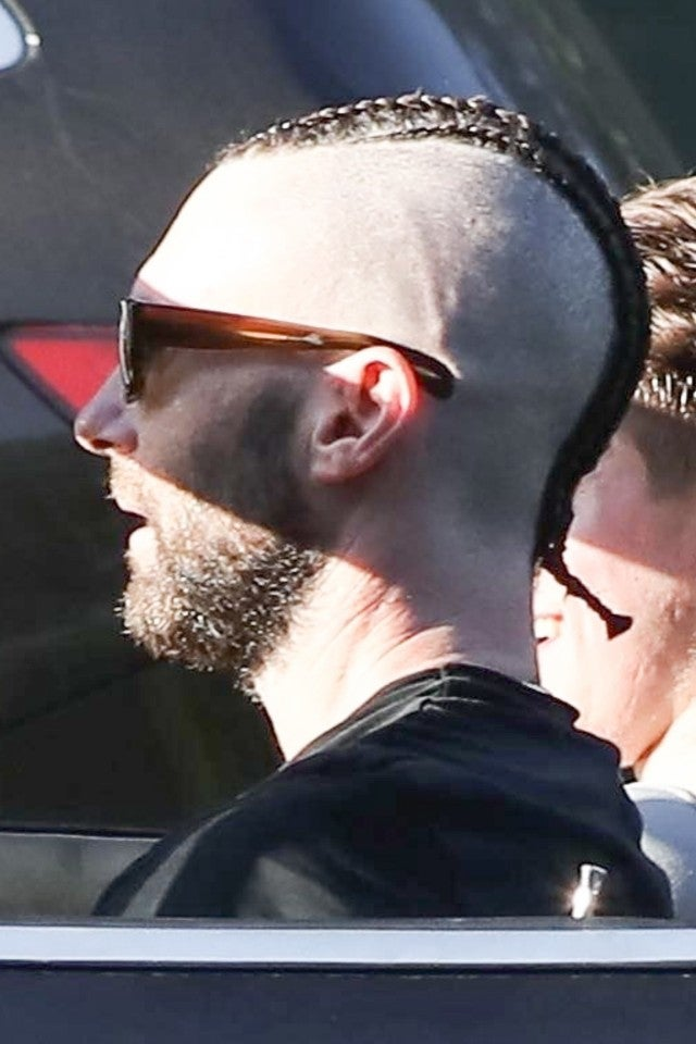 Adam Levine S Bold New Cornrows Will Have You Doing A