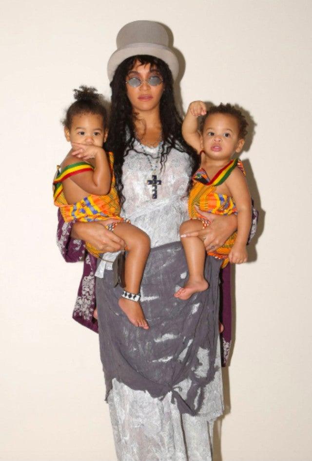 Beyonce and twins