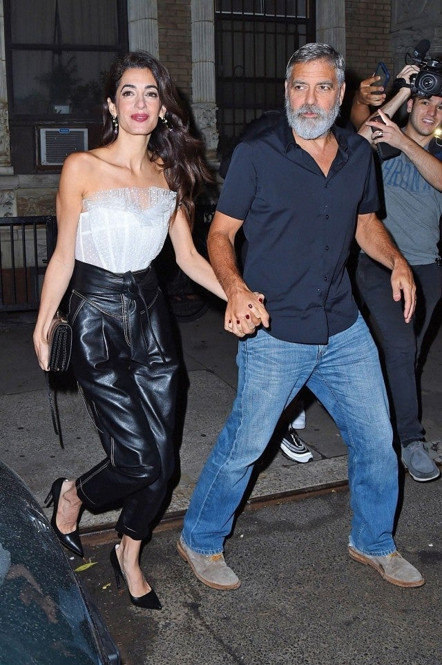 George and Amal Clooney anniversary