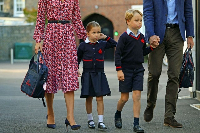 Princess Charlotte Will Drop Her Royal Title When She Starts School Tomorrow