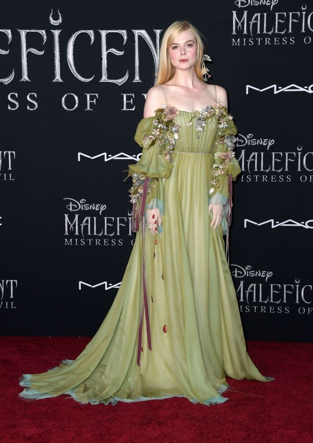 Elle Fanning Channels Princess Aurora At Maleficent