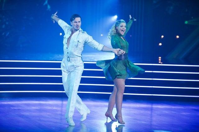 Gleb Savchenko and Lauren Alaina DWTS premiere