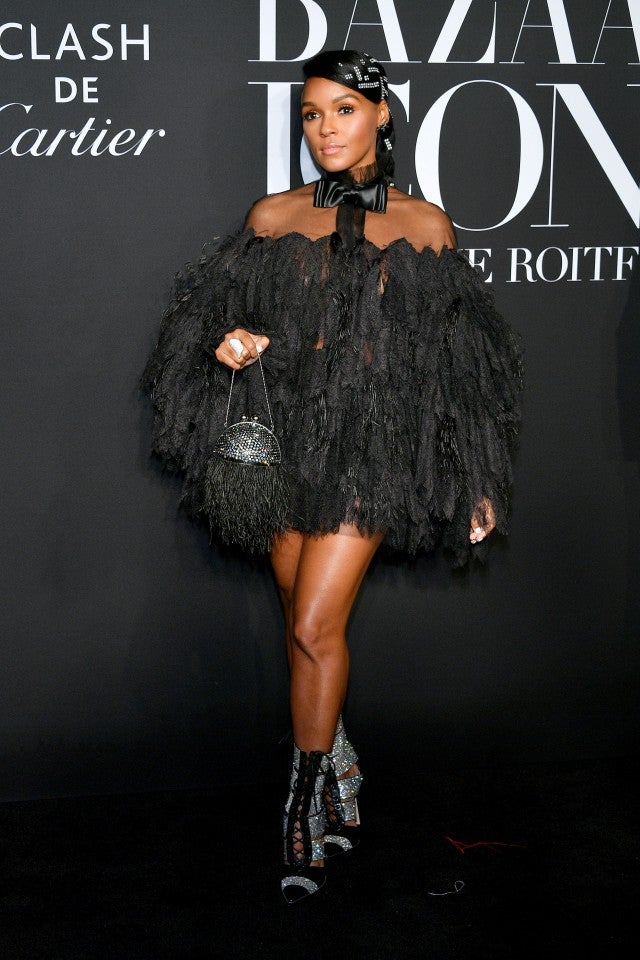 Janelle Monae at Harper's Bazaar Icons Party 2019