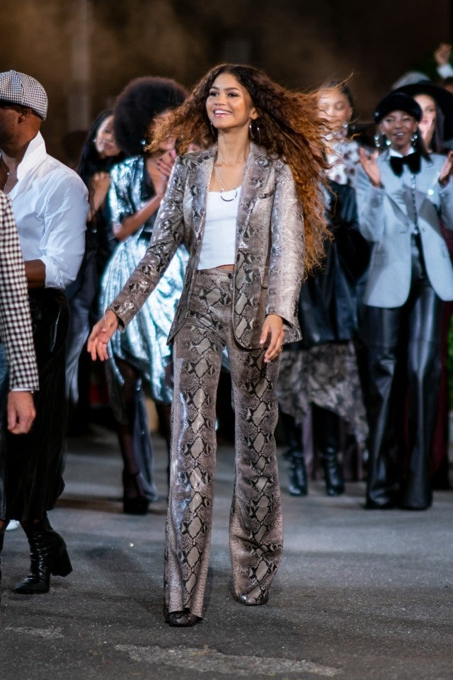 Zendaya at TOMMYNOW fashion show NYFW