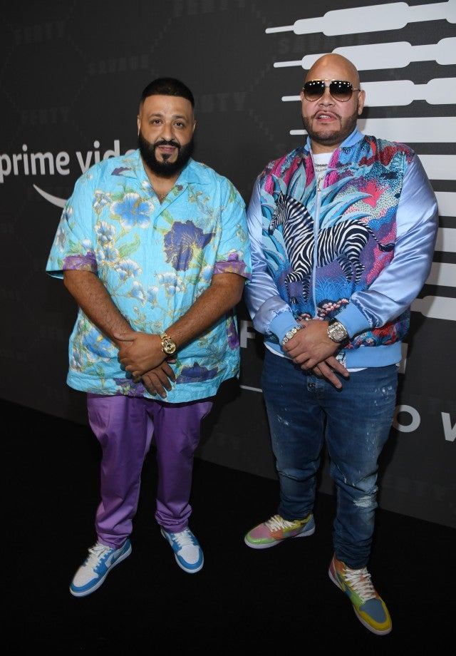 DJ Khaled and Fat Joe attend Savage X Fenty Show