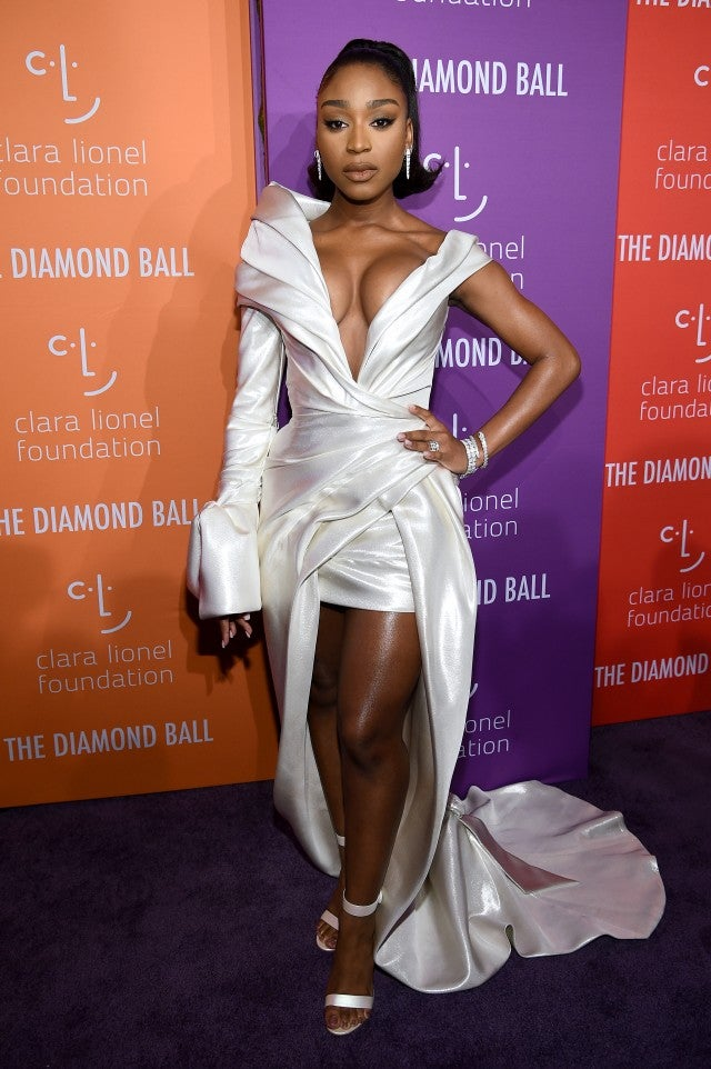 Normani 2019 Diamond Ball