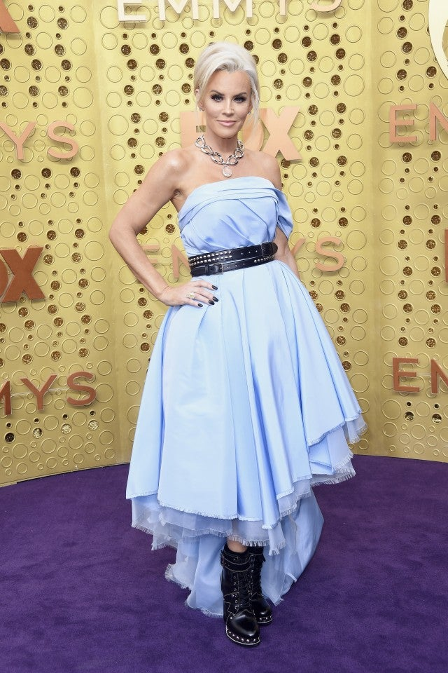 Jenny McCarthy at the 71st Emmy Awards