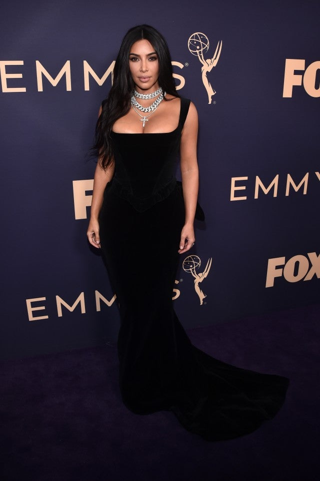 Kim Kardashian West at 2019 emmys