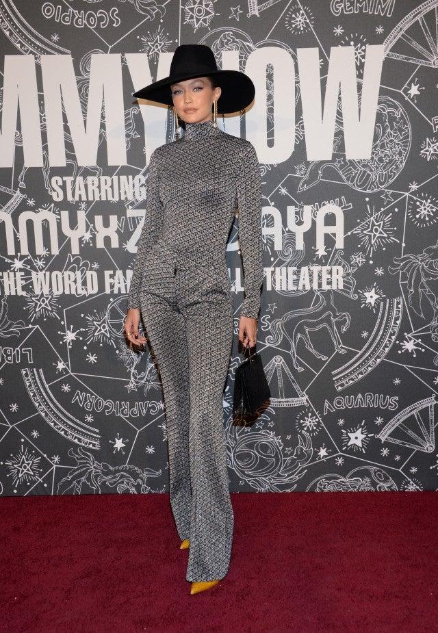 Gigi Hadid at TOMMYNOW fashion show NYFW