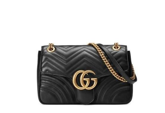 Gucci GG Marmont 2.0 Quilted Shoulder Bag