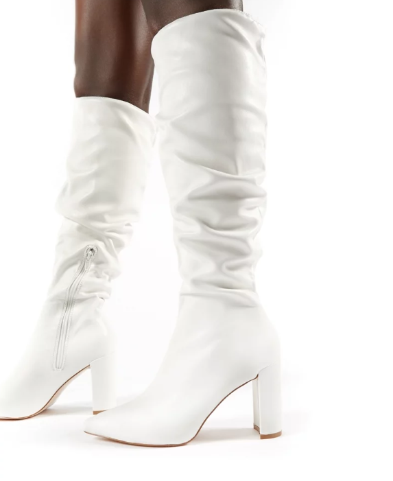 Public Desire Mine Knee High Boots