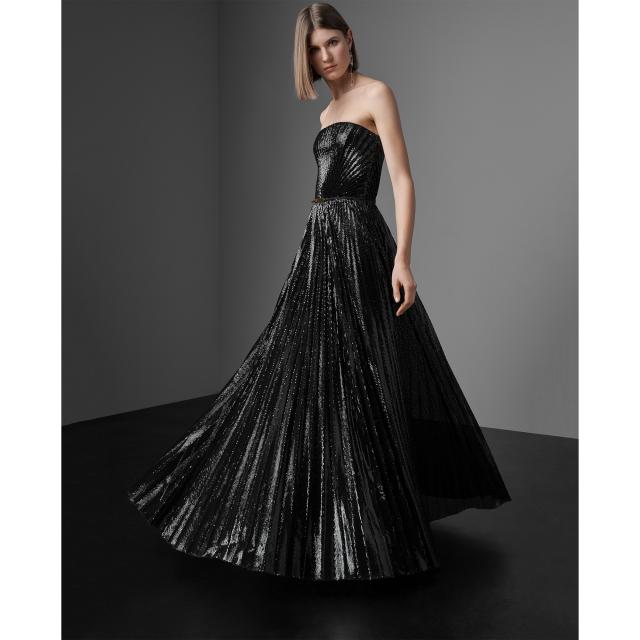 Ralph Lauren Jazmine Sequined Evening Dress
