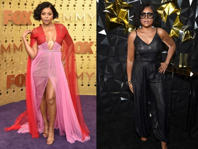 Taraji P. Henson Emmys 2019 after party look