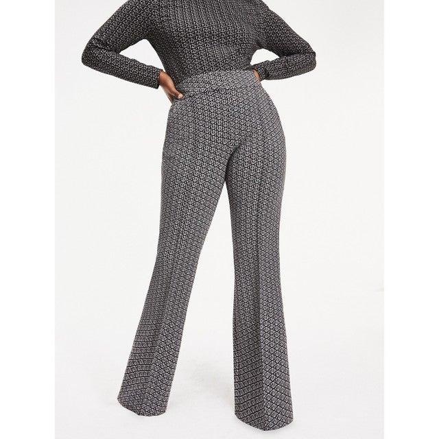 Tommy x Zendaya Curve Monogram Print Trousers