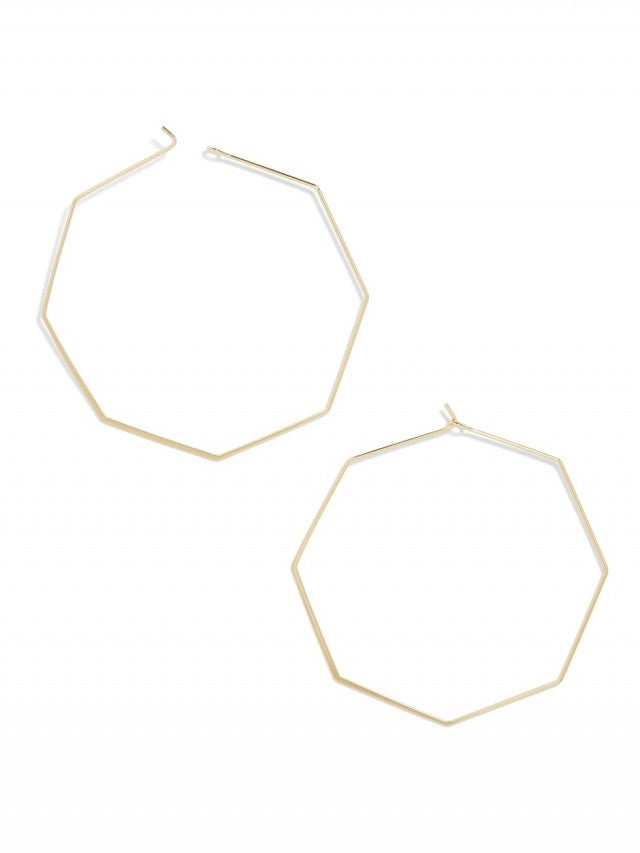 BaubleBar Cassandra Hoop Earrings