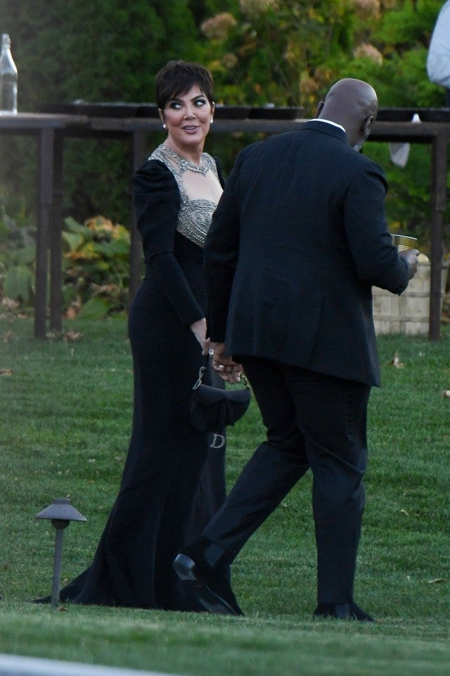 Kris Jenner at Jennifer Lawrence Wedding