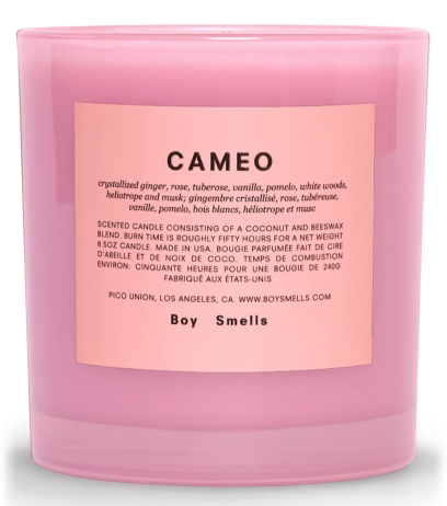 Boy Smells Cameo Scented Candle